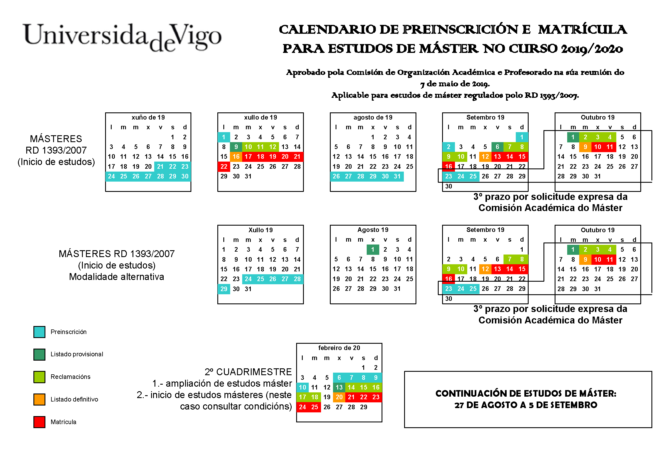 Usc Calendario.Admission And Registration
